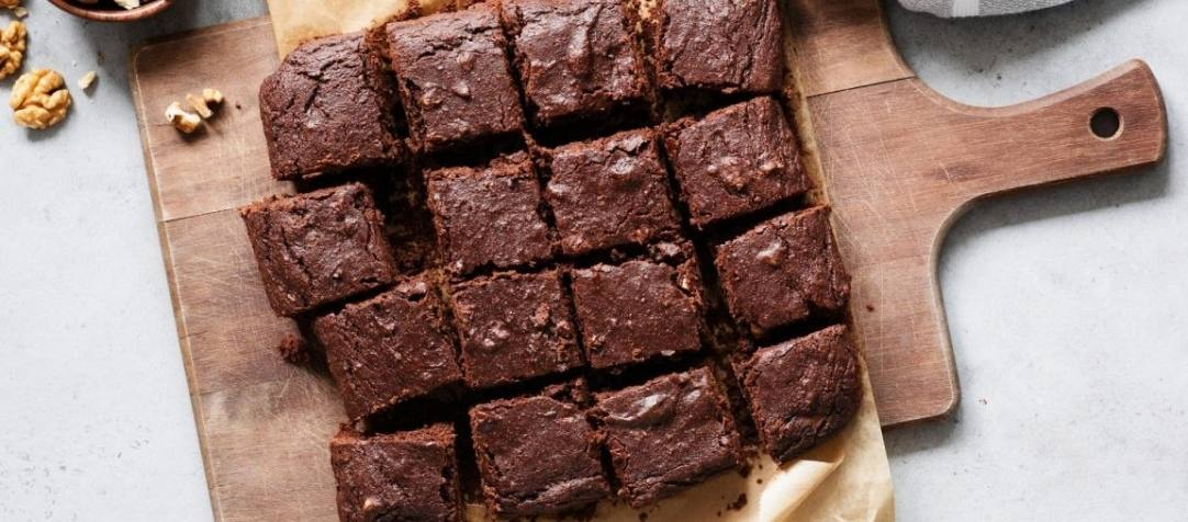 Did Someone Say HEALTHY Brownies?
