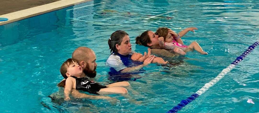 Make A Splash With Our Free Monthly Infant Swimming Lessons