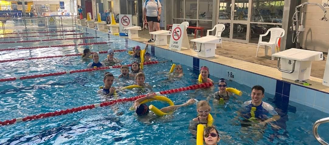 Bluey's Big Race - Swimming Carnival